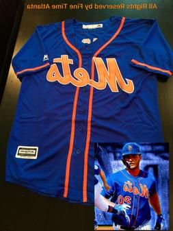 NEW Pete Alonso New York Mets Men's Blue Road Alternate Cool