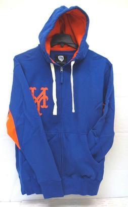 New York Met's Men's L Hands High Victory Full Zip Hoody 487
