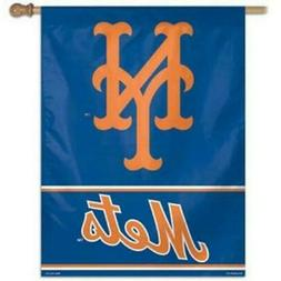 NEW YORK METS ~  Official MLB 28x40 Outdoor House Flag Banne