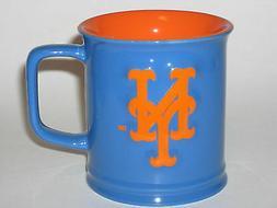 New York Mets 11 oz. Team Logo Sculpted Coffee Mug