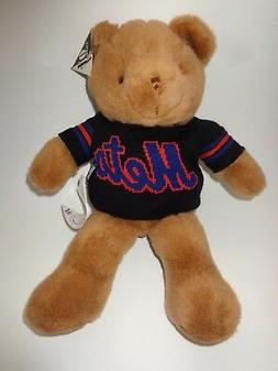 "New York Mets 14"" Super Soft Plush Teddy Bear With Team Swea"