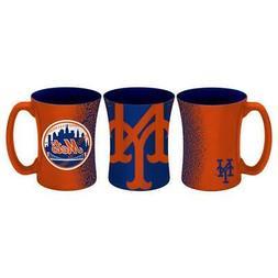 New York Mets 14oz Mocha Design Coffee Mug  MLB Tea Cup Glas
