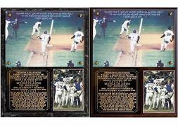 New York Mets 1986 World Series Game 6 Photo Plaque Miracle