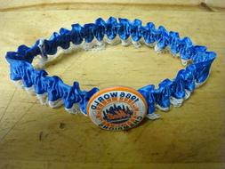 New York Mets 1986 WS Champions WOMENS Blue & lace garter be