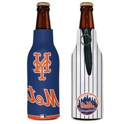 NEW YORK METS 2 SIDED BOTTLE COOLER/KOOZIE NEW AND OFFICIALL
