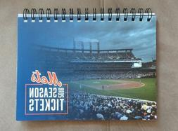 New York Mets 2015 2016 2017 2018 2019 Unused Season Tickets