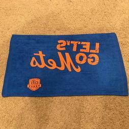 New York Mets 2018 SGA Blue Rally Towel Citi Perks MLB