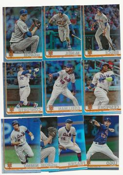 New York Mets 2019 Topps Series 1 Rainbow Foil Parallel Team