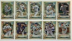New York Mets 2020 Topps Gypsy Queen Base Team Set *10 cards
