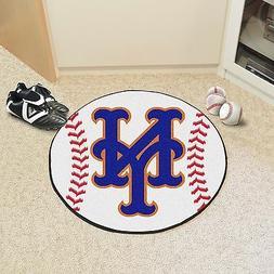 """New York Mets 27"""" Diameter Bath Bedroom Area Door Welcome Ba"""