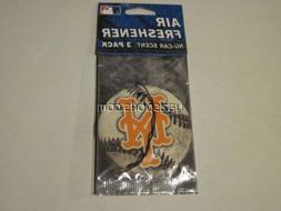 New York Mets 3 Pack Air Freshener