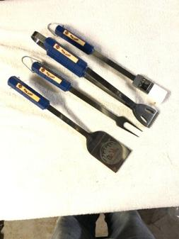 New York Mets 3 Piece BBQ Grill Tools Tongs Spatula Fork