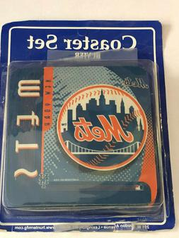 New York Mets 4 Pack Coaster Set