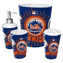 New York Mets The Northwest Company 4-Piece Bath Set