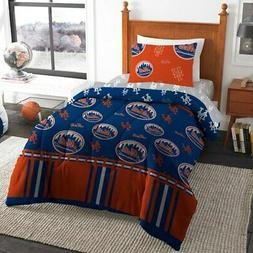 New York Mets The Northwest Company 4-Piece Twin Bed in a Ba
