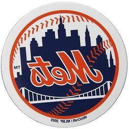 """New York Mets WinCraft 5"""" Die-Cut Car Magnet"""