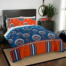 New York Mets The Northwest Company 5-Piece Queen Bed in a B