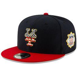 New York Mets New Era 9FIFTY MLB Snapback Hat Cap 4th Of Jul
