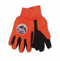 NEW YORK METS ADULT TWO TONE SPORT UTILITY GLOVES NEW & OFFI