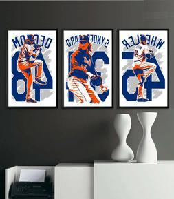 NEW YORK METS art print/poster FAN PACK #1 3 PRINTS! NOAH SY