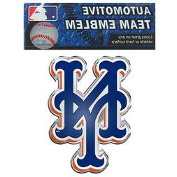 New York Mets Color Auto Emblem - Die Cut