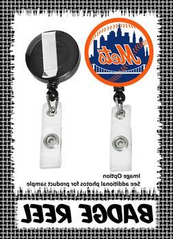 New York Mets - Badge Reel - Choose From 12 Designs