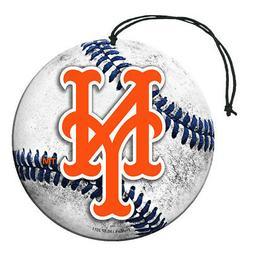 New York Mets Baseball Air Freshener Vanilla Scent 3 Pack Ca