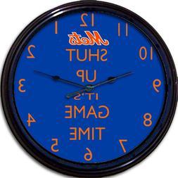 New York Mets Baseball Citibank Park Game Time Wall Clock NL