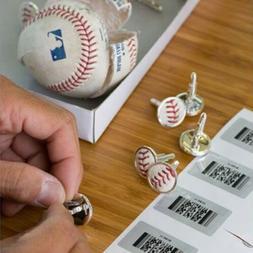 New York Mets Baseball Cufflinks - NYC Souvenir MLB Fan Gift