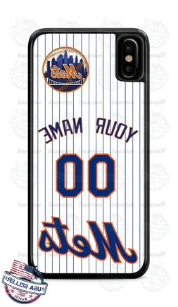 NEW YORK METS BASEBALL PERSONALIZED PHONE CASE COVER FITS IP
