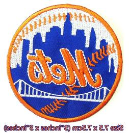 New York Mets  Baseball Sport Embroidery Patch logo iron,sew