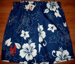 New York Mets Bathing Swim Suit XL Trunks Shorts Hawaiian St