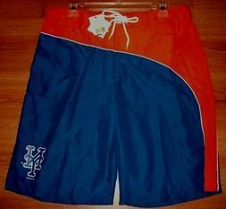 New York Mets Bathing Swim Suit XL Trunks Shorts MLB