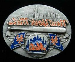 NEW YORK METS BELT BUCKLE LIMITED EDITION NEW...U.S. MADE