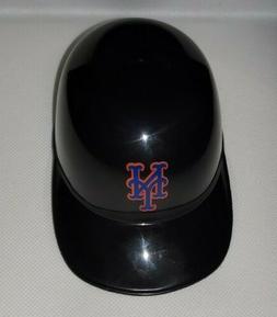 New York Mets BLACK Mini Baseball Helmet Ice Cream Bowl - NE