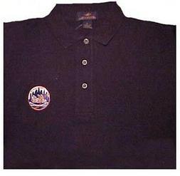 NEW YORK METS BLACK POLO SHIRTS  size medium