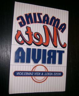 NEW YORK METS BOOK - AMAZING METS TRIVIA - ADELL & SAMELSON
