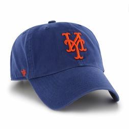 New York Mets 47 Brand Clean Up Adjustable Field Classic Blu