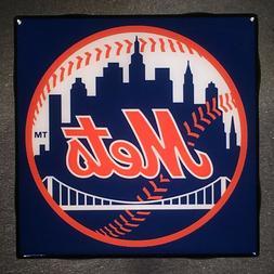 NEW YORK Mets Coaster Custom Ceramic Tile Baseball