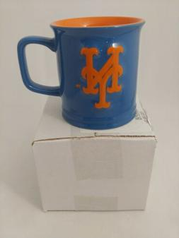 New York Mets Coffee Mug Relief Sculpted Team Color Logo 11