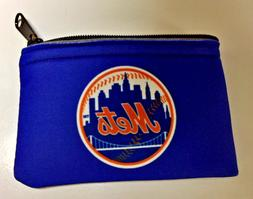 "New York Mets Coin Change Purse 5"" X 3 1/4"""