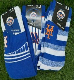 PKWY New York Mets Crew Socks MLB Baseball LArge  Jersey Uni