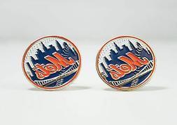New York Mets Cufflinks MLB Baseball