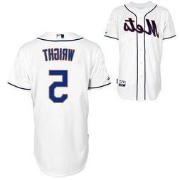 New York Mets David Wright #5 MLB Mens Replica Cool Base Jer