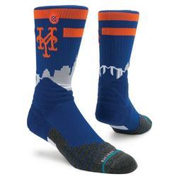 New York Mets Stance Diamond Pro Crew Socks Size Large