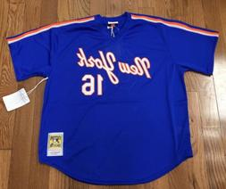 New York Mets Dwight Gooden Mitchell & Ness Batting Practice