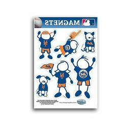 New York Mets Family Magnet Set  Auto Car Stickers Emblems 6