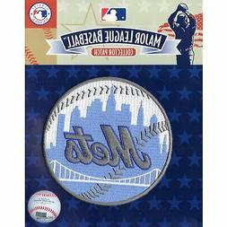 New York Mets Fathers Day Blue Sleeve Jersey Patch