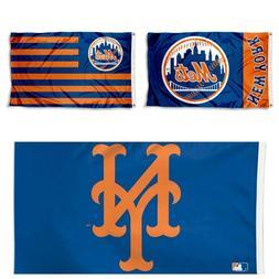 NEW YORK METS FLAG 3'X5' MLB NY METS BANNER: FAST FREE SHIPP