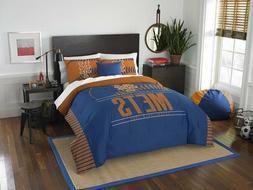 New York Mets Full/Queen Comforter & Shams Set OFFICIAL MLB